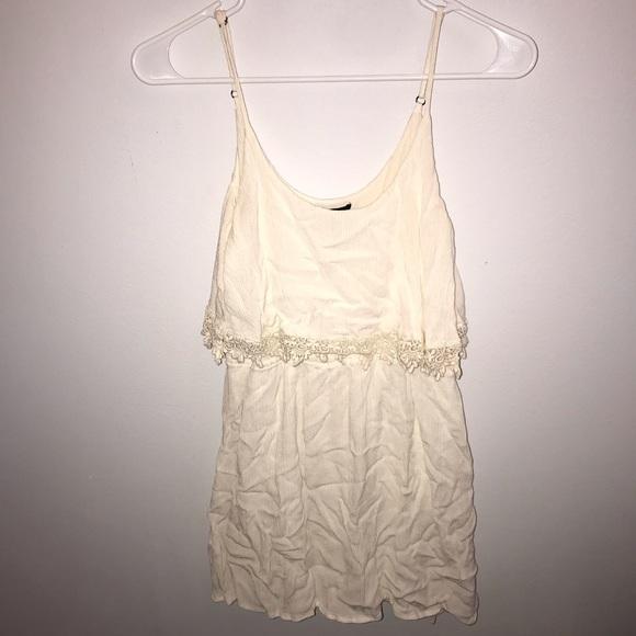 Forever 21 Dresses & Skirts - Cute F21 White Sun Dress